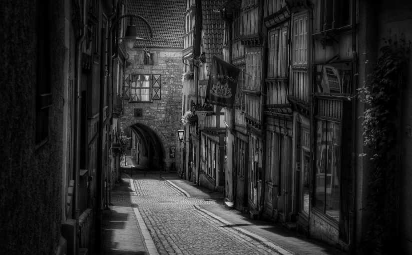 La rue d'autrefois…